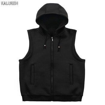 KALUREN Free shipping Plus size 2xl-10xl men's vest european version fat guy cotton male vest waistcoat chest 170 cm for 180kg