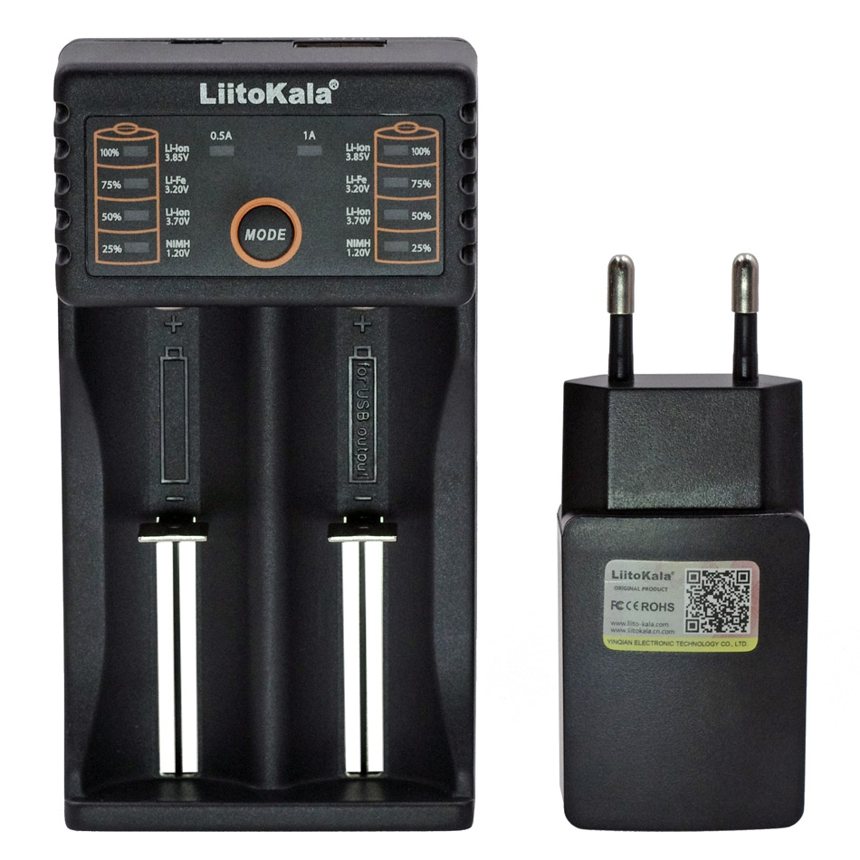 Universal Charger For 3.7V 18650 26650 Li-ion Rechargeable Battery  FJ