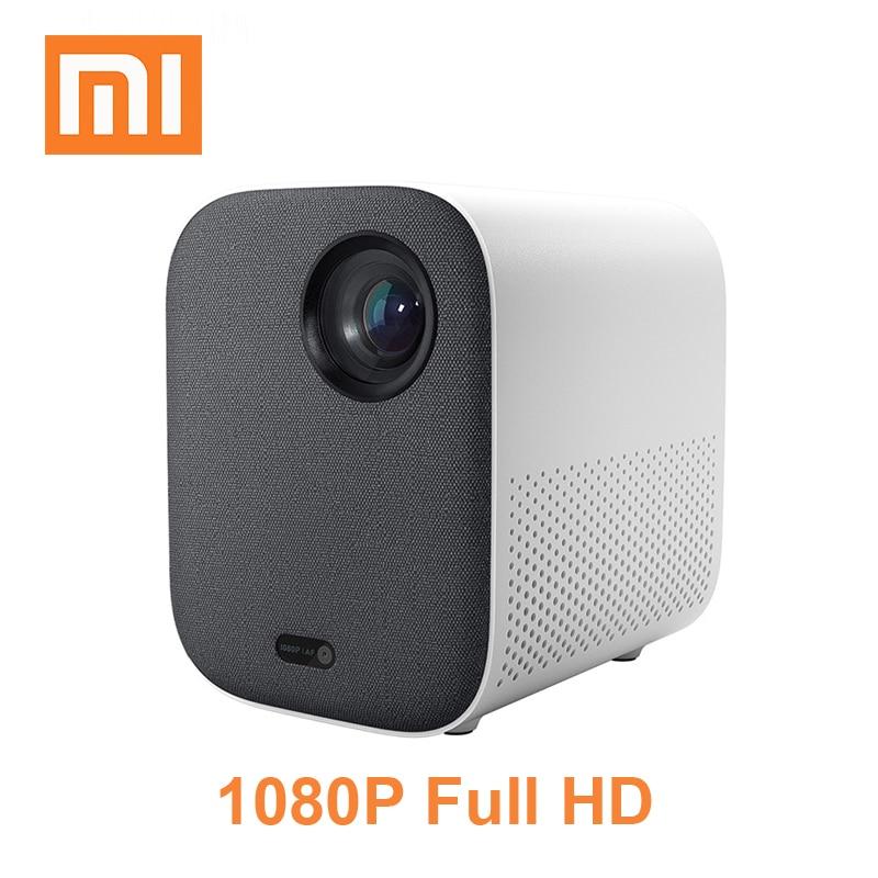 100% Kwaliteit 2019 Xiaomi Mijia Projector Jeugd Versie Beamer Full Hd 4 K Tv Video Proyector Draagbare 1080 P Dlp Mini Projector Home Cinema