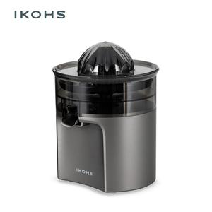 IKOHS-GRAY TORNADE Electric Orange Juicer Gray DishwasherPower Two Removable Cones Stainless Steel Clean Anti-drip System 400W