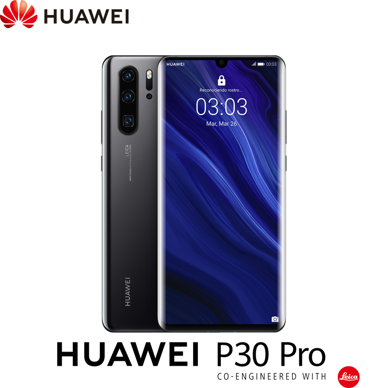 "[Spanish Version] Huawei P30 Pro, smartphone 6.47 ""(RAM 8 hard GB + ROM 128 hard GB, Kirin 980, Quad tailgate camera)."