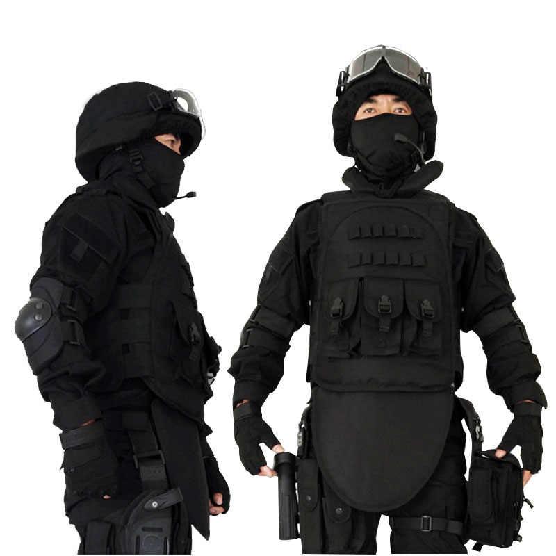 Hoge Kwaliteit Mannen Vest Nieuwe Mode Armor Outdoor Vesten CS Militaire Tactische Zwart Vest Chaleco Trabajo Hombre Casual Vesten