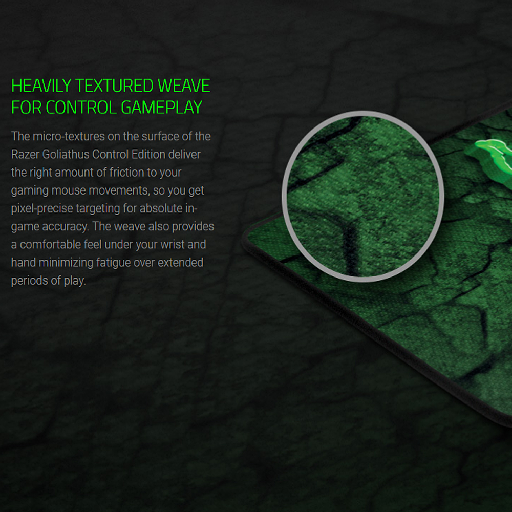 Image 5 - Razer Goliathus CONTROL Gaming Mouse Mat Soft Mouse Pad for Professional Gamers Small 215 mm*270 mm Medium 254 mm*355 mm Large-in Mouse Pads from Computer & Office