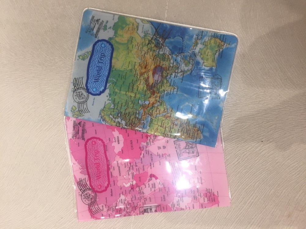 Mode Korea Style 3D paspoort houder PVC reizen paspoort beschermhoes kaart & ID houders Hot Sale photo review