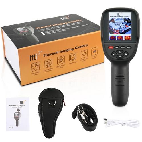 3 2Inch TFT Handheld Infrared Temperature Control Instrument Professional Infrared Thermal Imager Thermal Camera HT 18