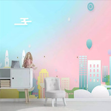Customized high-end murals, modern style theme childrens room wallpapers, whole house, wall, custom design, factory wholesale