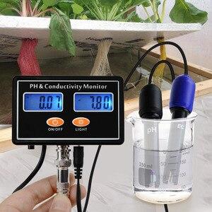 Image 3 - Онлайн PH & EC измеритель электропроводимости тестер ATC, качество воды в реальном времени непрерывный мониторинг для аквариума, пруда