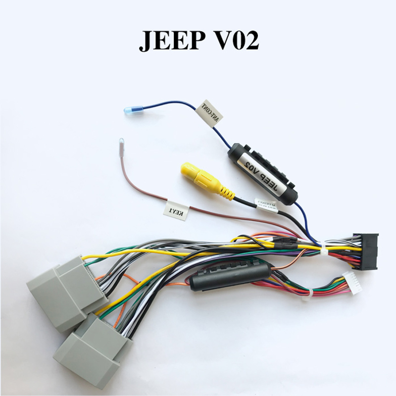 Wiring harness cable for JEEP only for ARKRIGHT Car Radio Android Device