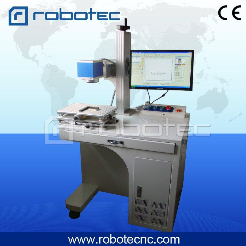 200*200mm haute qualité marqueur métal pas cher prix fibre laser machine de marquage/CNC machine de gravure sur métal