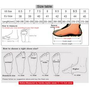 Image 5 - الجمل حذاء رجالي الخريف الرجعية جلد طبيعي الأدوات رجل عادية سميكة أسفل الخياطة الموضوع الدانتيل متابعة الأحذية