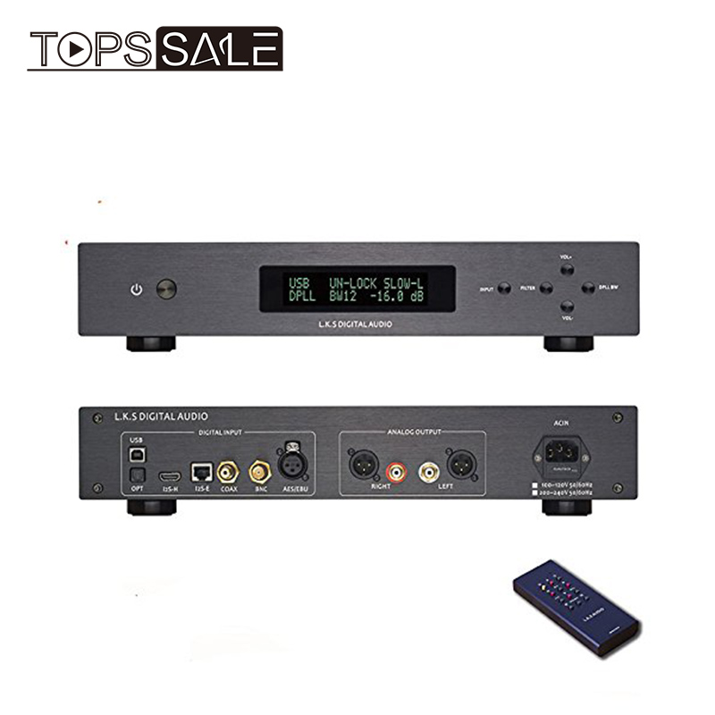 L K S Audio MH-DA004 Mini Dual ES9038pro Flagship USB
