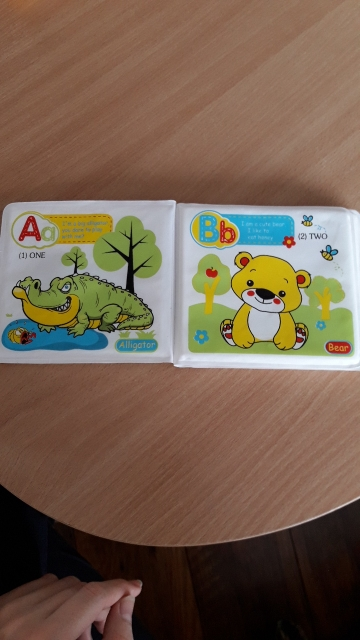 Waterproof 4 Pages Animal Learning Bath Book - By Coupodeal