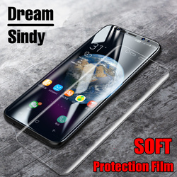For samsung galaxy S8 S8 Plus 3D soft PET Screen protector Film For Samsung S6 edge S7 edge full cover ( not tempered glass )