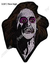 Film Horor Beetlejuice Barbara Maitlands Patch Bordir Betelgeuse Michael Keaton Tim Burton Halloween Kostum Cosplay(China)