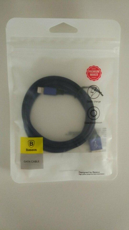 Baseus USB кабель для iPhone X 8 7 6 зарядки Зарядное устройство 3 в 1 Micro USB кабель для Android Тип usb c Тип-c мобильный телефон кабели