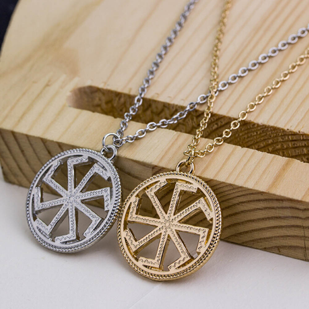 JEWELRY Amulet Pagan Sun Guardian Talisman Pendant Necklace For Men Women Jewelry Gift