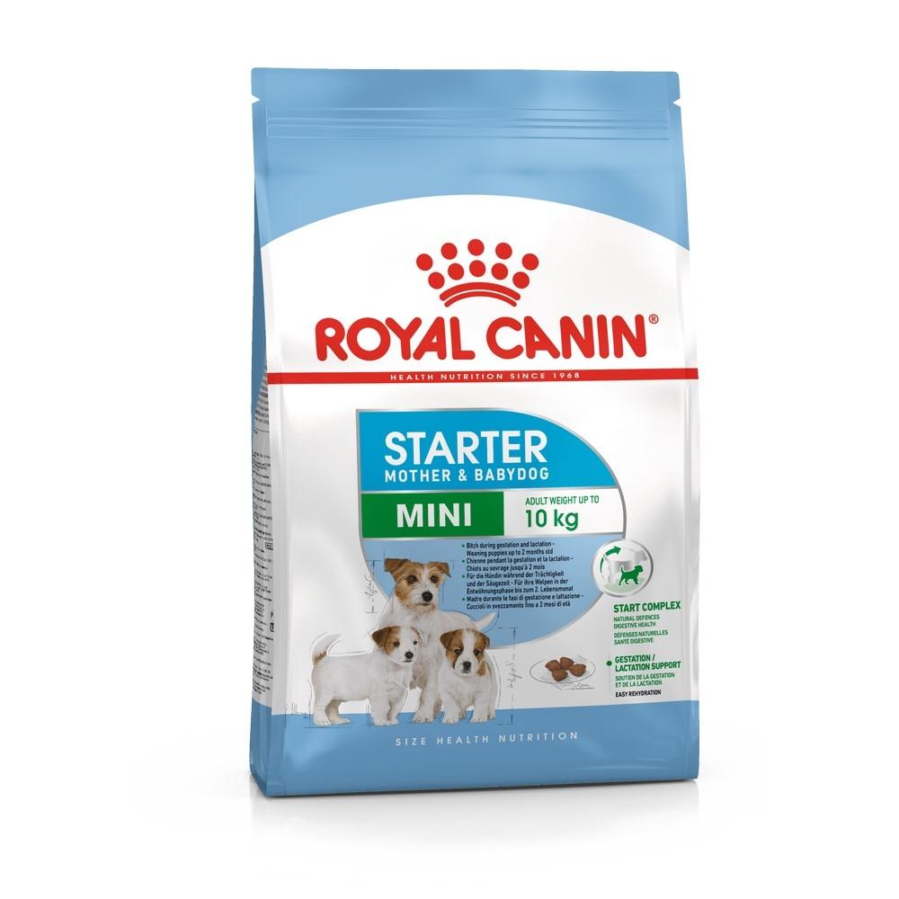 Puppy Food Royal Canin Mini Starter, 8,5 kg royal canin royal canin mini starter mother