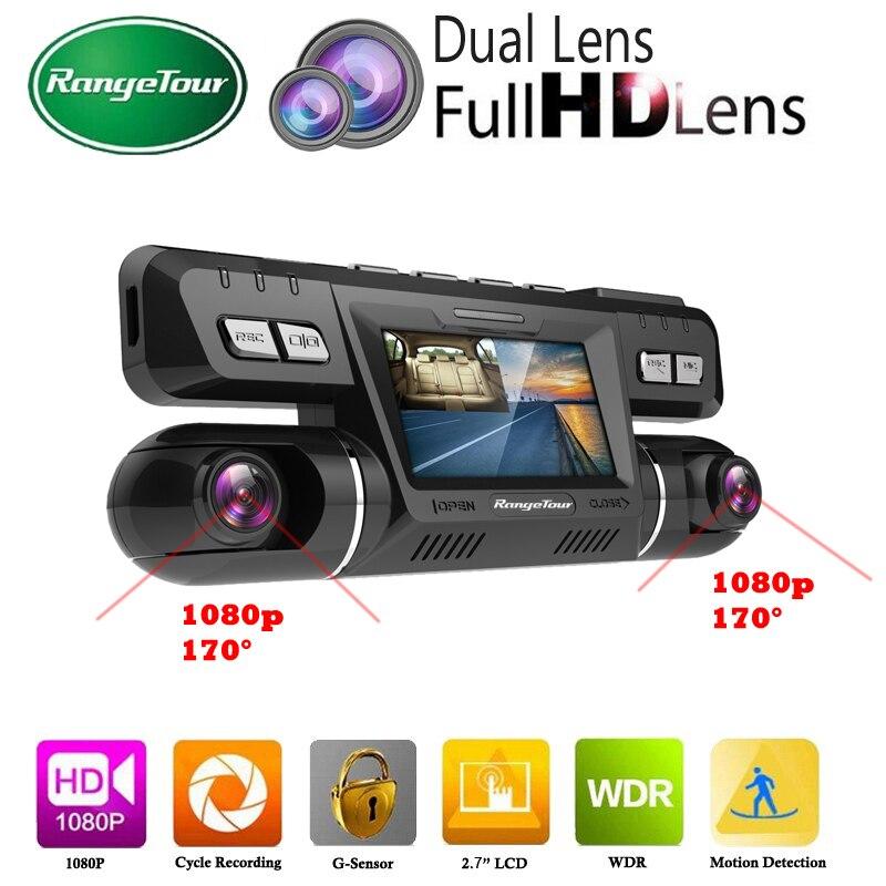 Car DVR Video Vehicle Dash Camera Wifi Recorder Novatek 96660 Dashcam Dual Lens Full HD 1080P