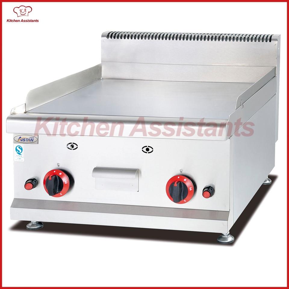 Bereiche Haushaltsgeräte Effizient Gh586 Gas Gegenober Griddle Maschine Von Bbq Maschine GroßE Auswahl;