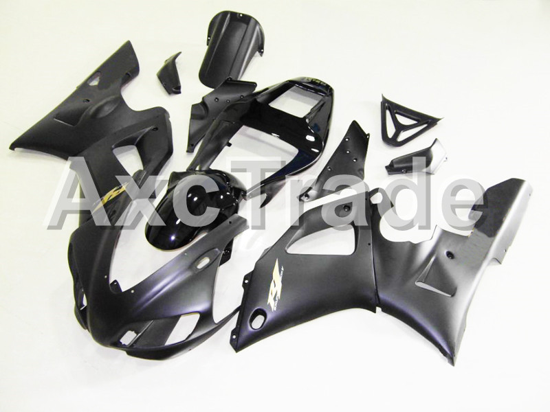 Motorcycle Fairings Kits For Yamaha YZF1000 YZF 1000 R1 YZF-R1 1998 1999 98 99 ABS Injection Molding Fairing Bodywork Kit B106 custom motorcycle fairing kit for kawasaki ninja zx9r 1998 1999 zx9r 98 99 black flames blue abs fairings set 7 gifts sg10