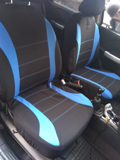 Car Seat Covers Interior Accessories Airbag Compatible AUTOYOUTH Seat Cover For Lada Volkswagen Red Blue Gray Seat Protector