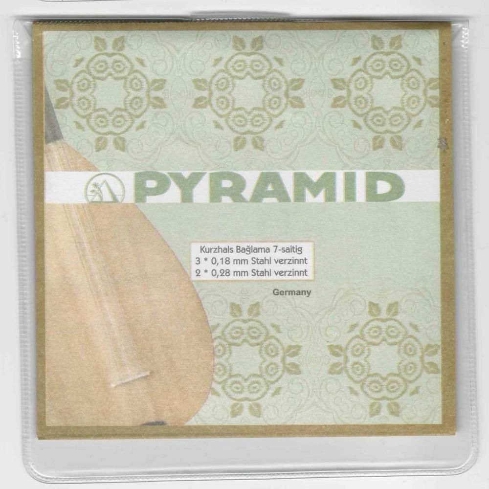 Professional Turkish Short Neck Baglama Saz Strings PSS-404 Pyramid Saiten
