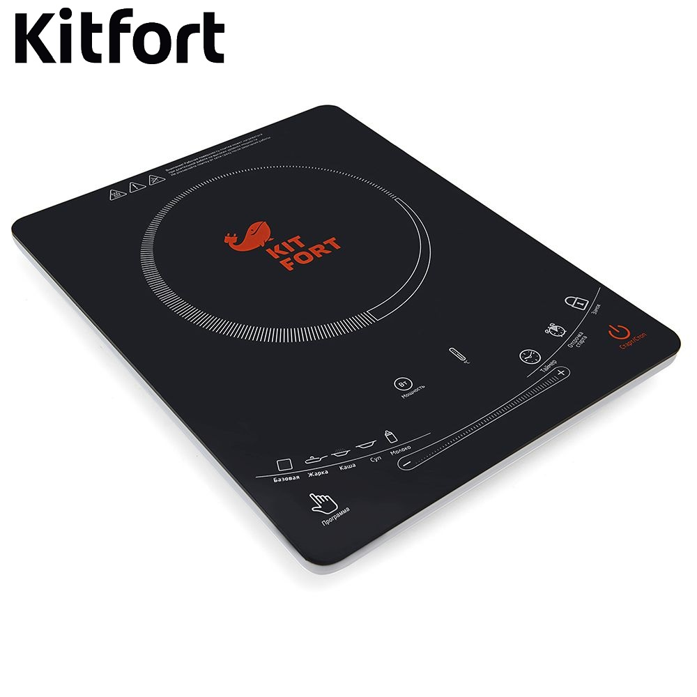 Induction cooker Kitfort kt-106 Cooking panel Electric Plate Tile electric range Induction tile furnace Touch cooking stove random cartoon ceramic tile decal 1pc
