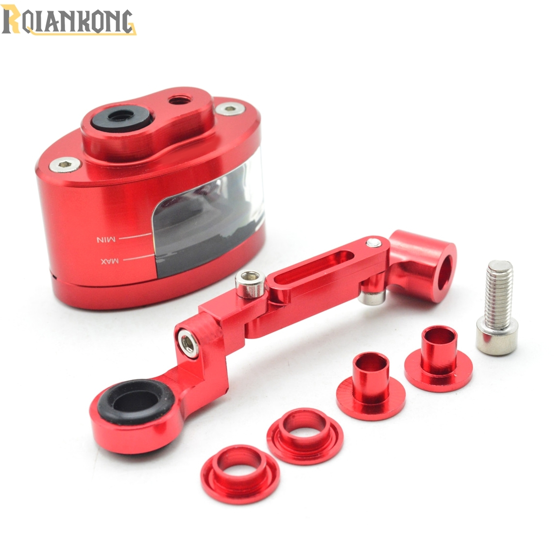 Hot!!New! Motorcycle Brake Fluid Reservoir Oil Tank have mounting kit For Yamaha YZF R1/R125/R15/R1M/R25/R3/R6 hot new motorcycle brake fluid reservoir oil tank have mounting kit for ducati hypermotard 1100 796 821 939 evo s sp strada