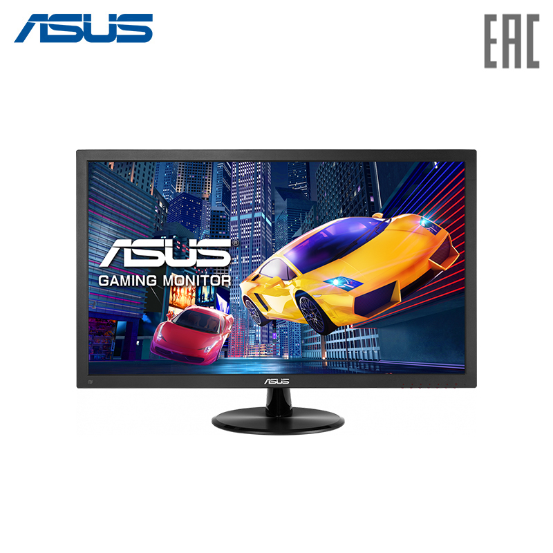 Monitor ASUS 24 VP248QG Black LED/Wide/1920x1080/1ms/170*-160*/250 cd-m/100000000:1/+DP/+HDMI/+MM lcd monitor asus 35 xg35vq curved