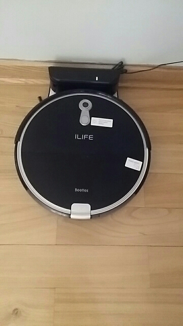 ILIFE  A8 Robot Vacuum Cleaner Sterilize for Thin Carpet Camera Navigation Various Cleaning modes