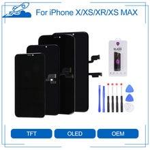 Elekworld TFT OLED для iPhone X XS XR XS MAX ЖК дисплей с 3D сенсорным экраном дигитайзер в сборе с подарками