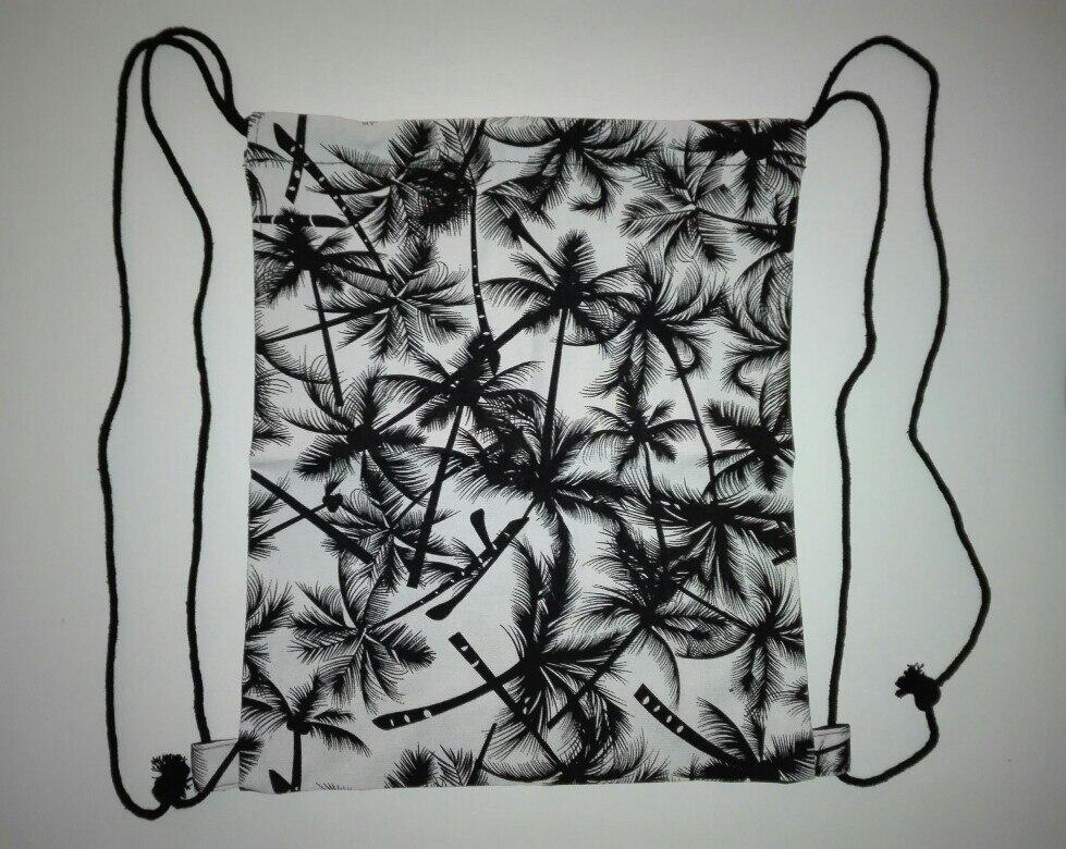 2019 new fashion backpack 3D printing travel softback man women harajuku drawstring bag mens canvas drawstring backpacks photo review