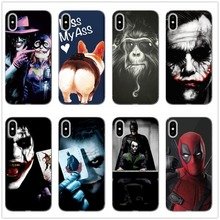 Suicide Squad Joker Harley Quinn DC Comics Phone Case Fundas For iphone 8 X XS XR Max 6 7PLUS Silicone Soft Silicone TPU Coque