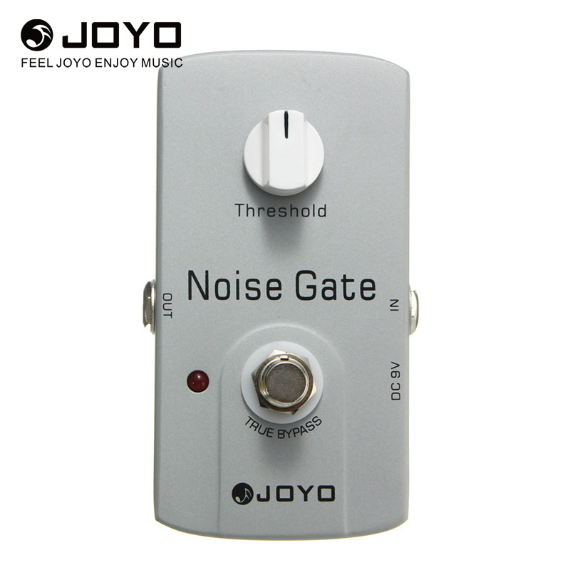 JOYO JF-31 Noise Gate Effect Pedal True Bypass Design Electric Guitar Musical Stringed Guitar Parts & Accessories Hight Quality