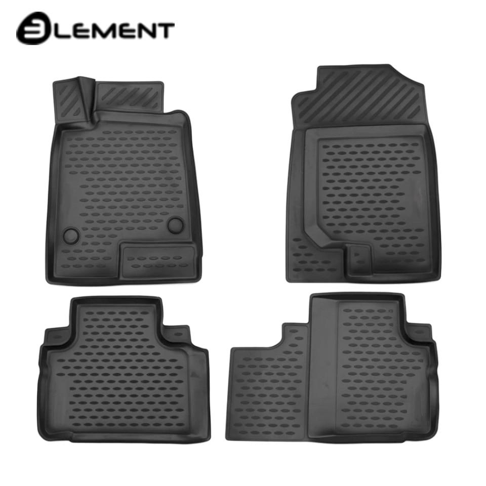 For Haval H6 Coupe 2017-2019 3D floor mats 4 pcs/set Element ELEMENT3D9906210k for haval h6 fwd 2014 2019 3d floor mats into saloon 4 pcs set element element3d9922210k