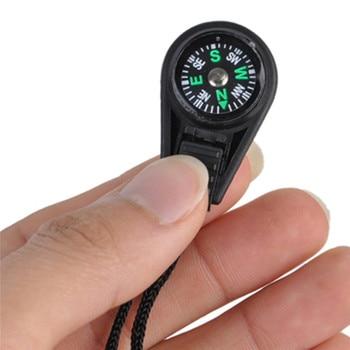 10Pcs Mini Survival Filled Mini Compass 2