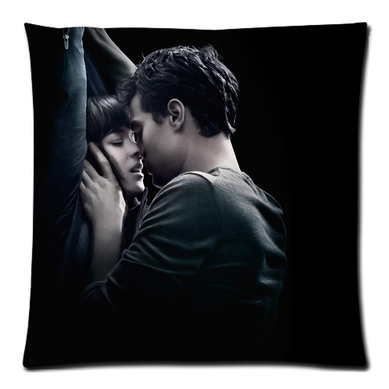Fifty Shades of Grey Cushion Cover Home Car Decorative throw pillows Case New Arrival Custom Polyester Almofada Cover