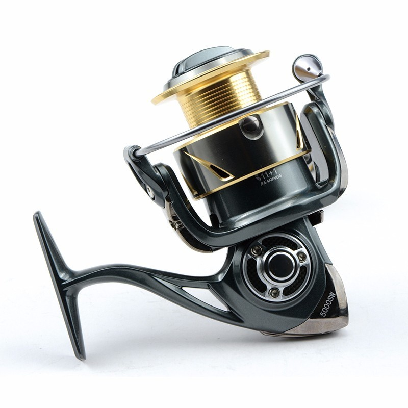 10000 de Água Pesca Frente Arraste Spinning Reel