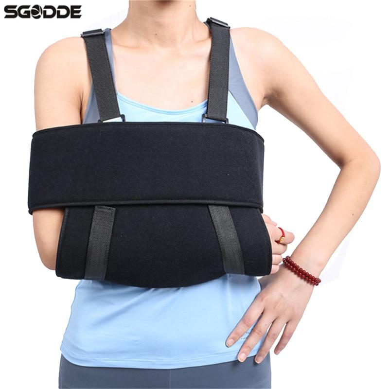 Adjustable Orthopedic Medical Arm Shoulder Sling Wrist Elbow Injury Support Sponge Type Arm Brace Nursing Care Orthotic Belt