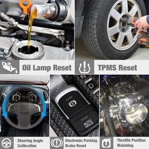 Image 3 - STARTEN X431 CRP129E obd2 eobd code reader Scanner unterstützung Motor ABS SRS ZU + Brems Öl SAS ETS TMPS Reset CRP 129E freies update