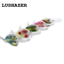 LUSHAZER Fishing lure minnow bait 18g hard lures carp fishing iscas artificiais 2016 wobbler crankbait cheap sea fishing tackle