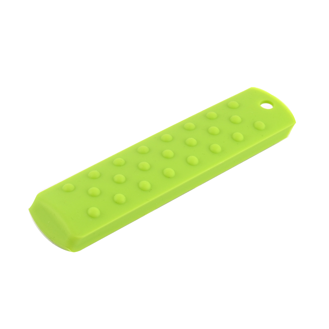 UXCELL Kitchen Silicone Heat Resistant Pot Pan Handle Saucepan Grip Holder Sleeve Slip Cover Green cover | handle | pot