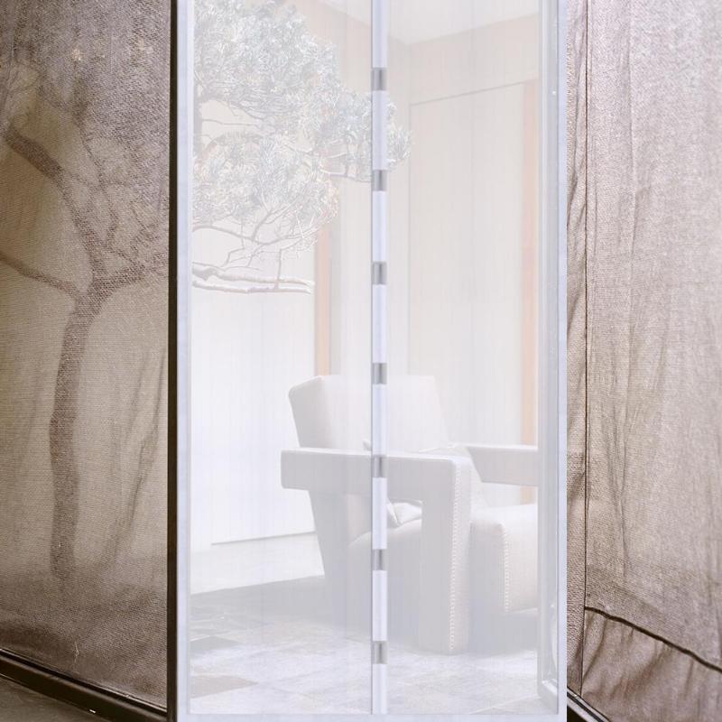 1 Pair Door Mosquito Magnetic Mosquito Net Door Curtain Anti Mosquito Home Door Window Screen Net Protector Home Summer Use