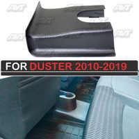 Doublure de la rangée arrière des sièges du tunnel pour Renault Duster 2010-2018 décoration de voiture protection de décoration de tapis intérieur
