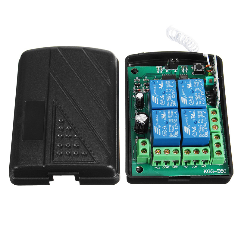3000m DC 12V WiFi Relay Module 4 Channel Relay Wireless Remote Control Switch Receiver Board dc 12v led display digital delay timer control switch module plc automation new