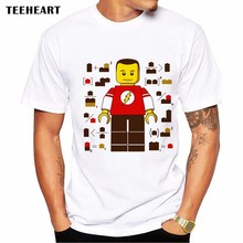 Sheldon Cooper Lego T- Shirt