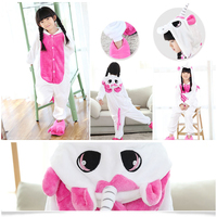 Christmas Baby Boys Girls unicorn Children pajamas Flannel Stitch Animal Pajamas Kid Pajama sets Onesies Children Clothing