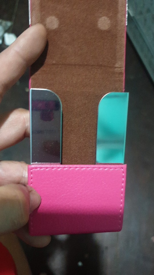Luxury brand Credit Card women men Package Card Holder Double Open Business Card Case porte carte organizador cardholder #5 photo review