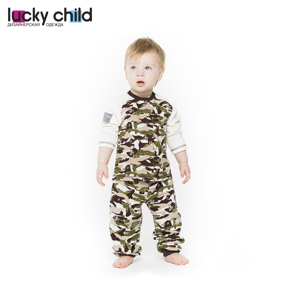 Pants & Capris Lucky Child for girls and boys 31-11pf (3T-5T) Military Kids Leggings Baby clothing Hot Children clothes trousers children s sets lucky child for boys and girls 8 2 kids clothes sports suit children clothing costumes baby