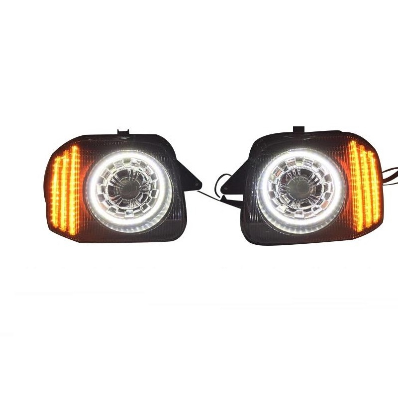 все цены на Rear Headlights Para Assembly Side Turn Signal Drl Daytime Running Automobiles Lamp Auto Styling Car Led Lights For Suzuki Jimny